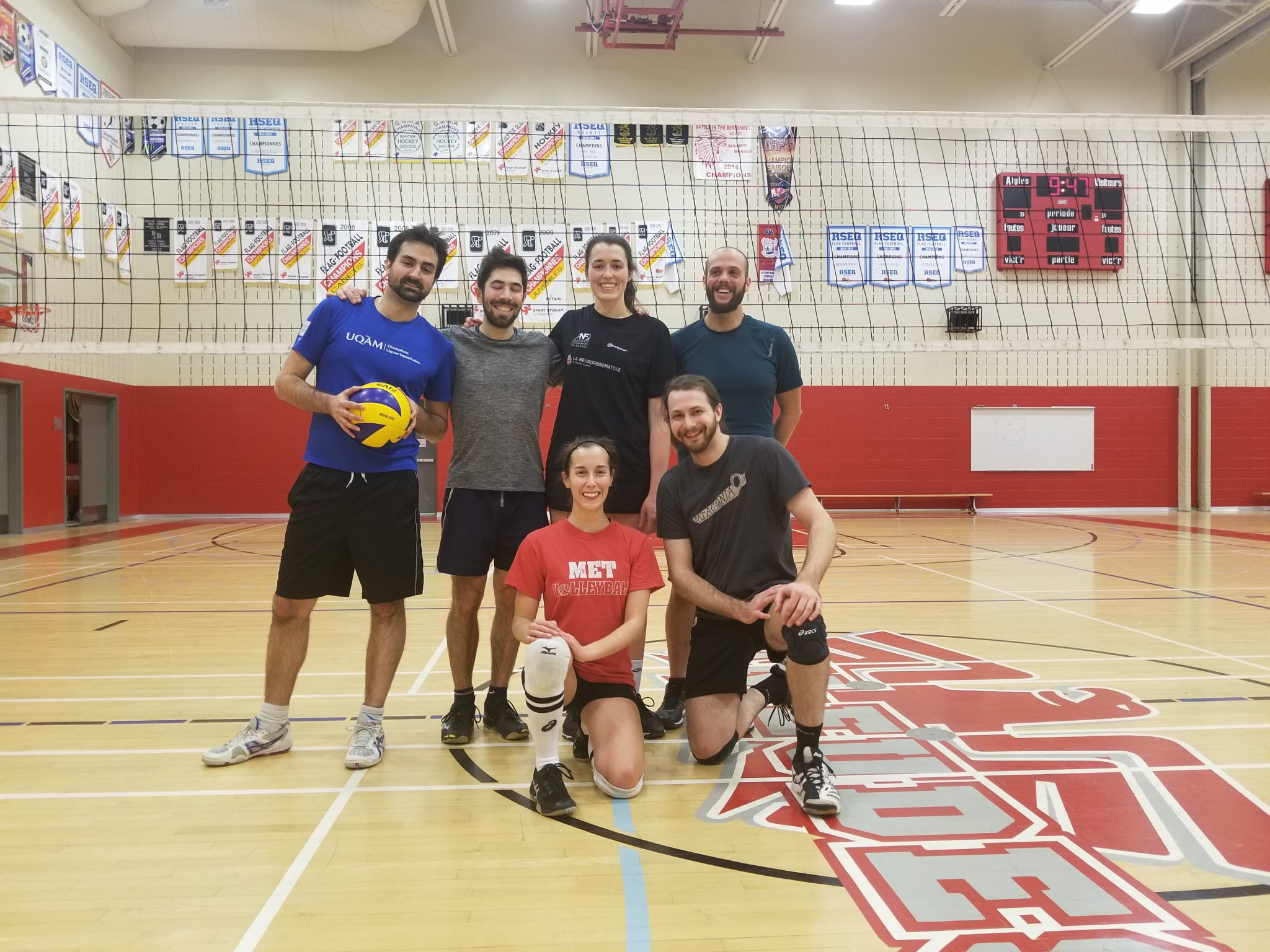 équipe volley